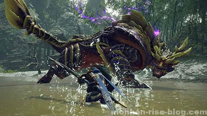 怨虎竜「マガイマガド」:モンスターの攻撃①