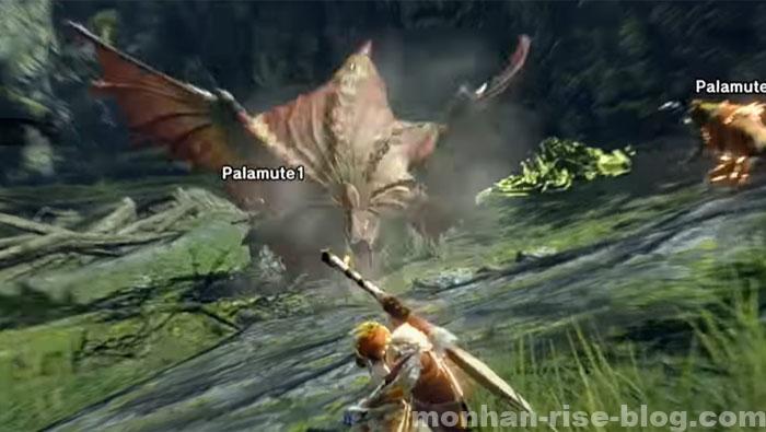 傘鳥「アケノシルム」:モンスターの攻撃⑤