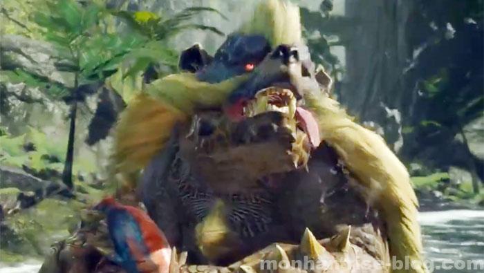 青熊獣「アオアシラ」:モンスターの種別