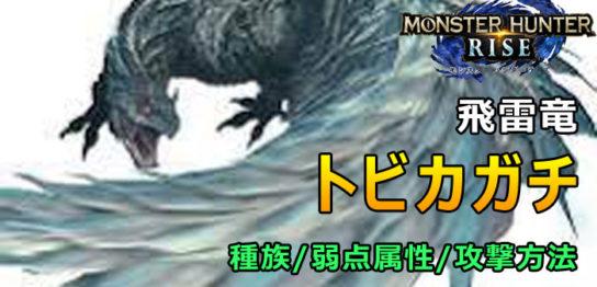 トビカガチ- RISE大型モンスター