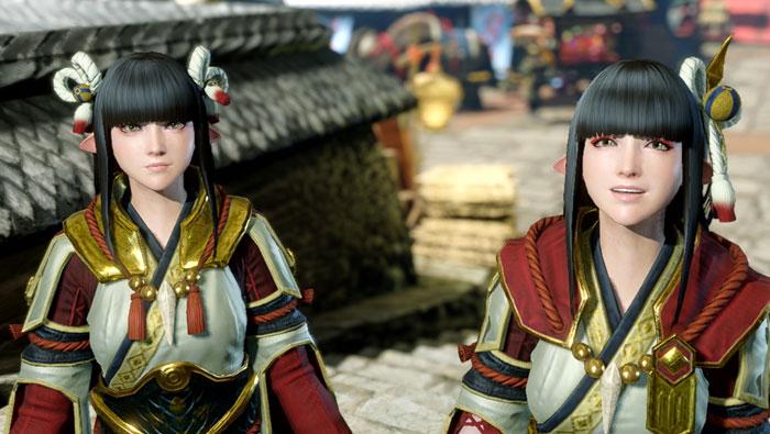 カムラの里の主要人物:受付嬢「ヒノエ」