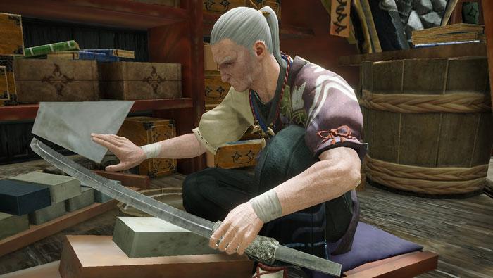 カムラの里の主要人物:加工屋「ハモン」