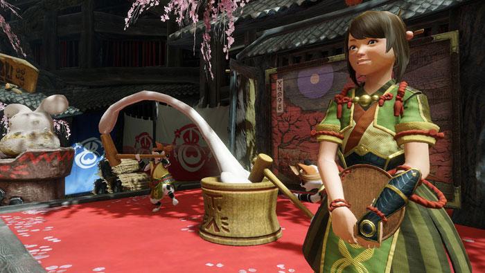カムラの里の主要人物:茶屋「ヨモギ」