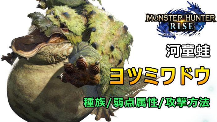 ヨツミワドウ - RISE大型モンスター