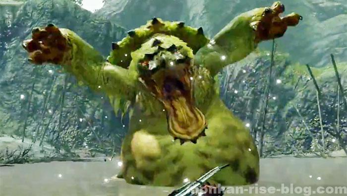 河童蛙「ヨツミワドウ」:モンスターの種別