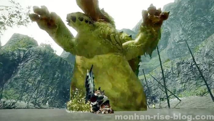 河童蛙「ヨツミワドウ」:モンスターの攻撃方法⑤