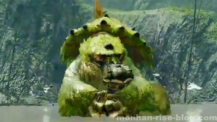 河童蛙「ヨツミワドウ」:モンスターの攻撃方法⑥