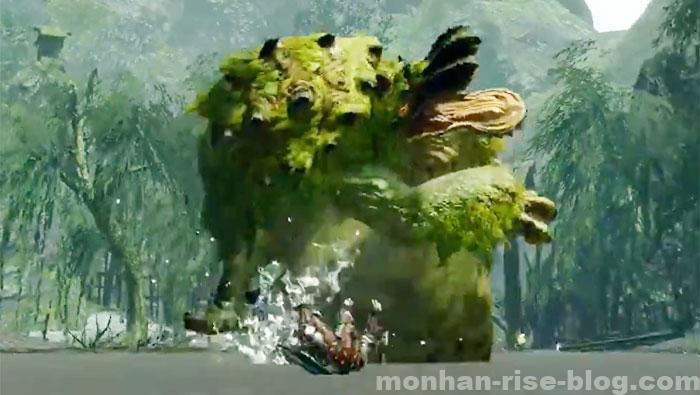 河童蛙「ヨツミワドウ」:モンスターの攻撃方法⑦