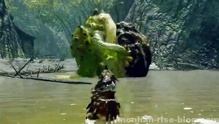 河童蛙「ヨツミワドウ」:モンスターの攻撃方法⑧
