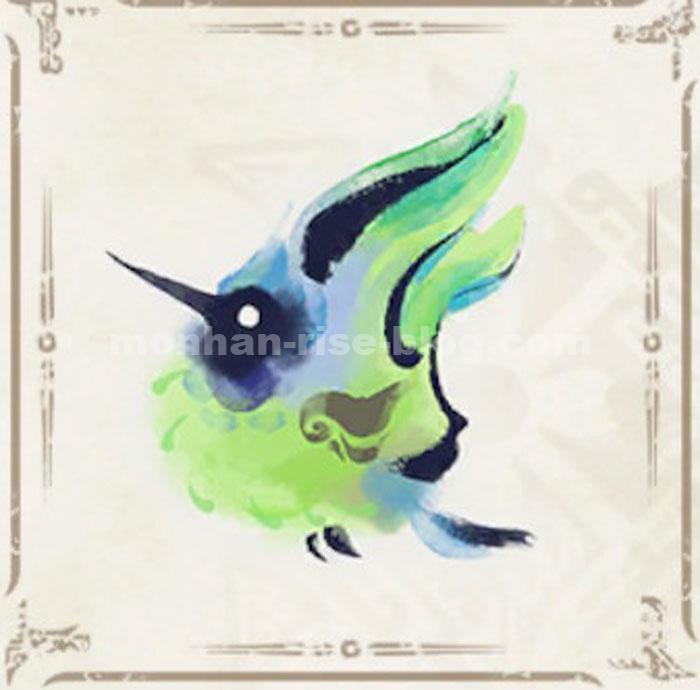 緑ヒトダマドリ:RISE環境生物①