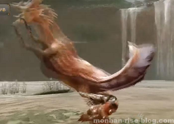 泡狐竜「タマミツネ」:モンスターの特徴⑤