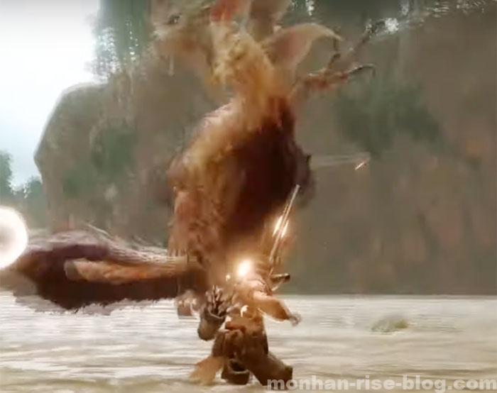 泡狐竜「タマミツネ」:モンスターの特徴④