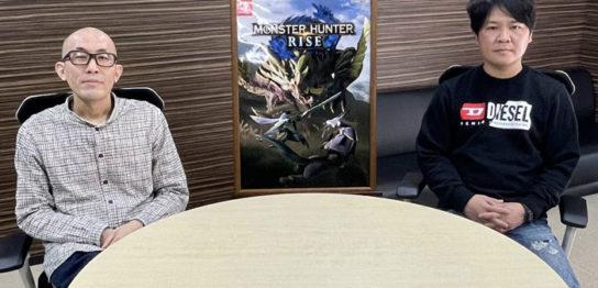 モンハンRISE メディア合同インタビュー