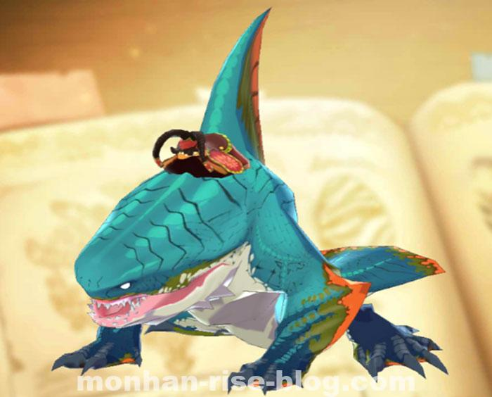 化け鮫「ザボアザギル」:モンハンRISE