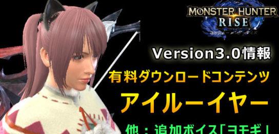 有料DLCバージョン3.0
